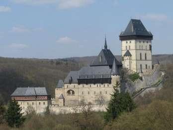 Privattour Schloss Konopiště, Nový Knín, Burg Karlštejn