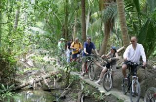 Kontrastreiches Bangkok: Kleingruppen-Fahrradtour