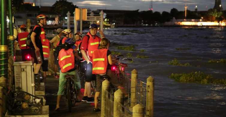 Bangkok: 5-stündige Radtour nach Sonnenuntergang