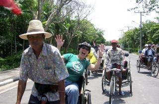Bangkok: Halbtägige Rikscha-Fahrt und Rundgang