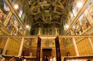 Ohne Anstehen: Vatikan bei Nacht & Sixtinische Kapelle