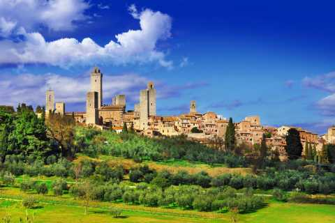 From Livorno: Siena, San Gimignano & Chianti Wine Excursions