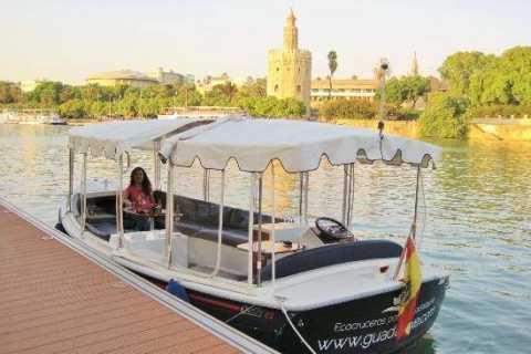 Seville: Triana Walking Tour & Eco Cruise