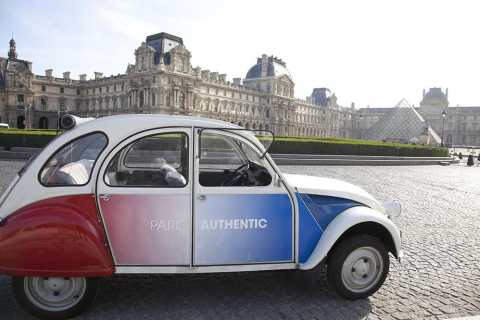 Off-the-Beaten Track in Paris: 2-Hour Vintage 2CV Tour