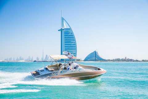 Dubai Marina: privéboottocht & sightseeing Palm Jumeirah