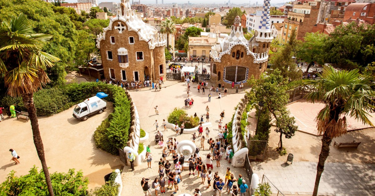 Barcelona: Park Güell Admission Ticket
