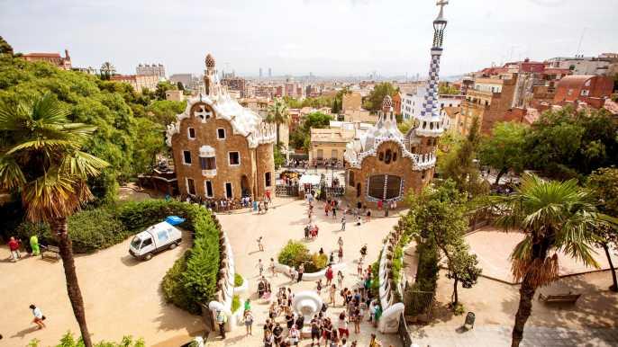 Barcelona: Park Güell Admission Ticket