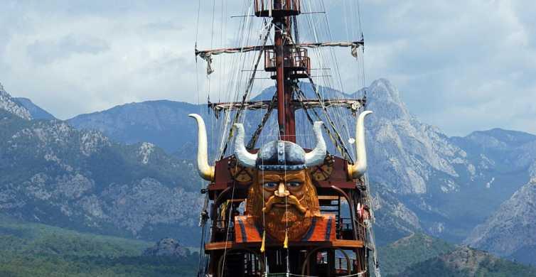 Viking Boat Tour on the Beautiful Bays of Kemer