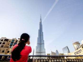 Dubai: Burj Khalifa Ticket für die 124. & 125. Etage