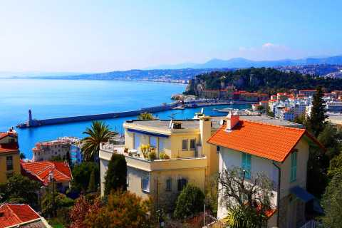 Nizza: 2-stündige Panorama-Tour mit E-Bike