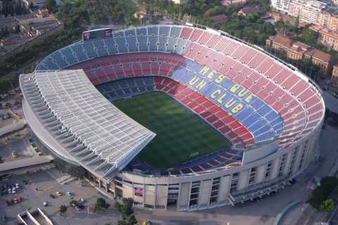 Barcellona: tour privato di 4 ore a Camp Nou