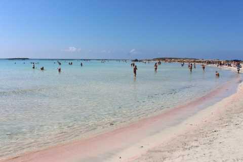 Isla de Elafonisi: excursión de un día en autobús desde Chania o Rethymno