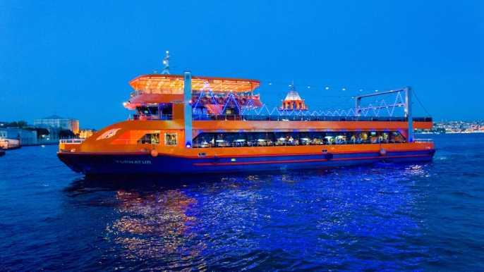 Estambul: crucero con cena y show turco por el Bósforo