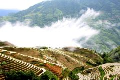 De Guilin: Longji Terrace Fields & Minority aldeia