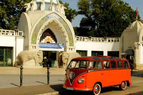 Budapest: Adventure drive with a VW Bulli Samba