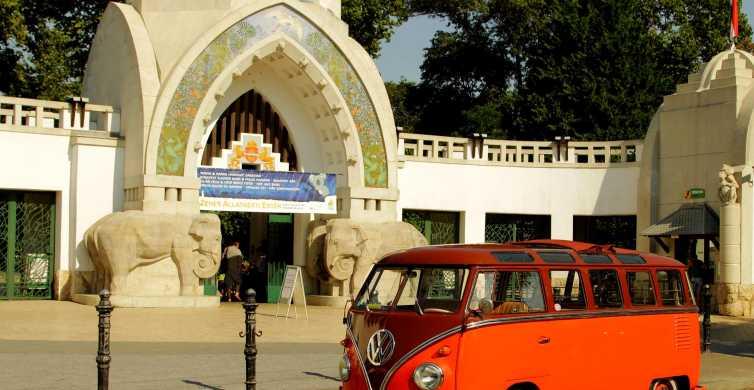 Budapeste: passeio de aventura com um VW Bulli Samba