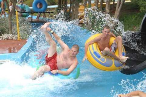 Parque acuático Acqua Plus: entrada con traslado al hotel