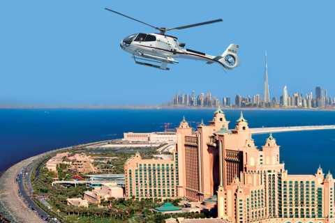 Dubai: Helikoptertur fra The Palm til Burj Khalifa