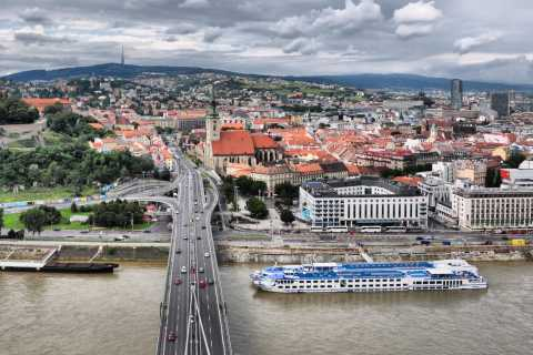 Bratislava Visite privée de Vienne
