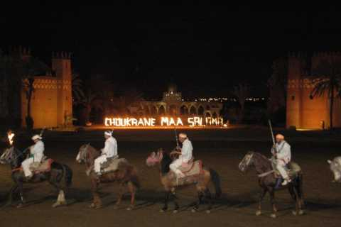 Fantasia 1001 Nights: Dinner + Show from Marrakech
