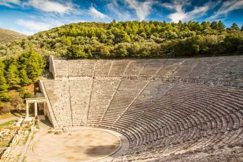 From Nafplio: Mycenae and Epidaurus Tour