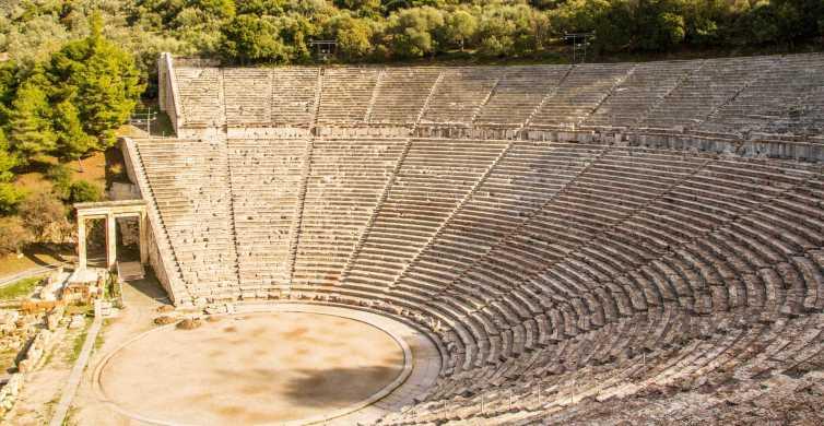 From Nafplio: Mycenae and Epidaurus Tour