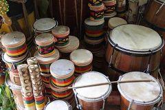Salvador: 3 horas de aula de percussão