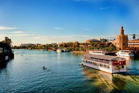 Sevilla extraordinaria: tour de 2,5 horas y crucero