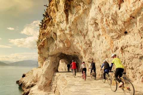 Nauplie: visite à vélo avec pique-nique