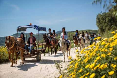 Equitación con almuerzo en las montañas cerca de Heraklion