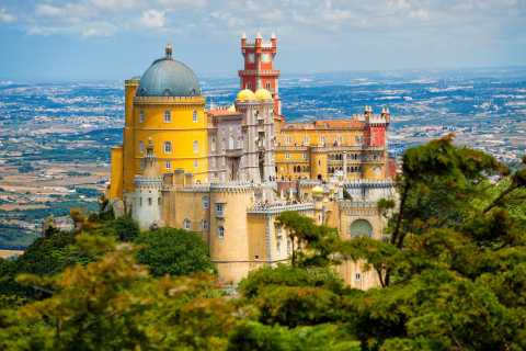 Sintra: Full-Day Tour from Lisbon with Wine Tasting