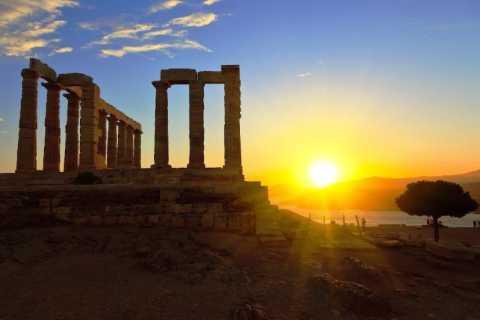 Ab Athen: Sonnenuntergangstour zum Kap Sounion