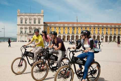 Lisbonne: visite des collines de 2,5h en vélo électrique