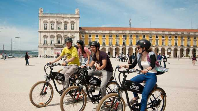 Lisbon: 2.5-Hour Hills Tour by Electric Bike