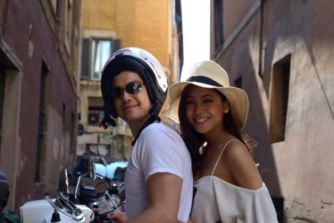 Rome: Self-Driven Sightseeing Tour by Vespa