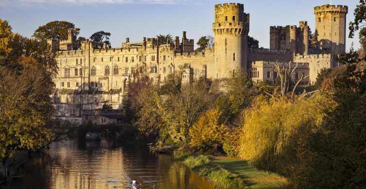 Fra London: Dagstur til Warwick Castle, Stratford og Oxford