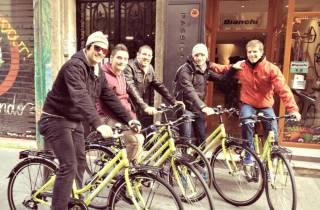 Valencia: Fahrrad-Biertour