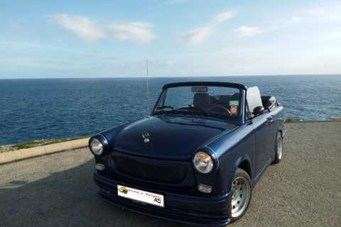 Mallorca: Privat Trabant Cabrio Tour with Wine Tasting