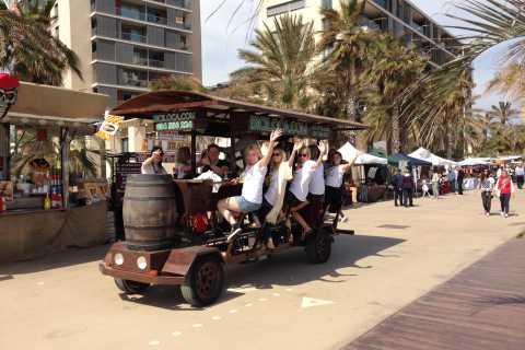Barcelona: Bierfiets Tour