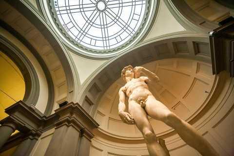 Florencia: tour a pie con Galería de la Academia sin colas