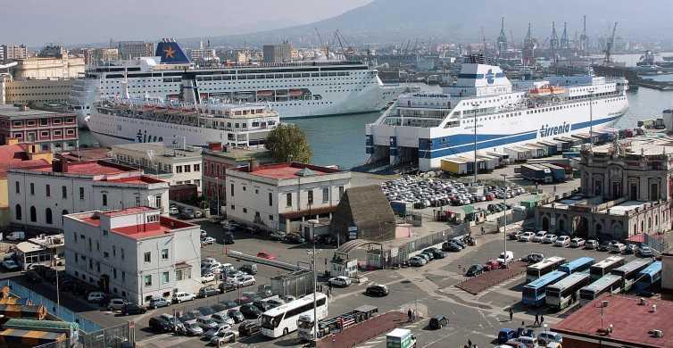 Dal porto di Napoli: trasferimento privato al Vesuvio