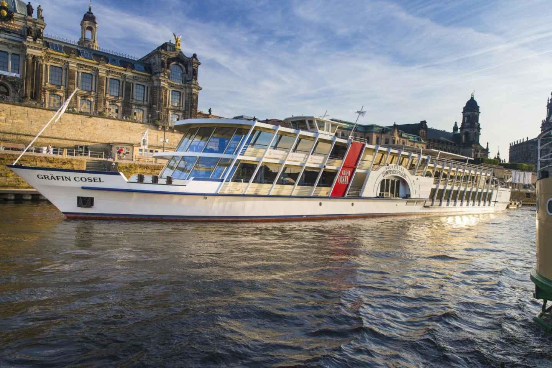 Dresden: Fluss-Sightseeing 1,5-stündige Schifffahrt