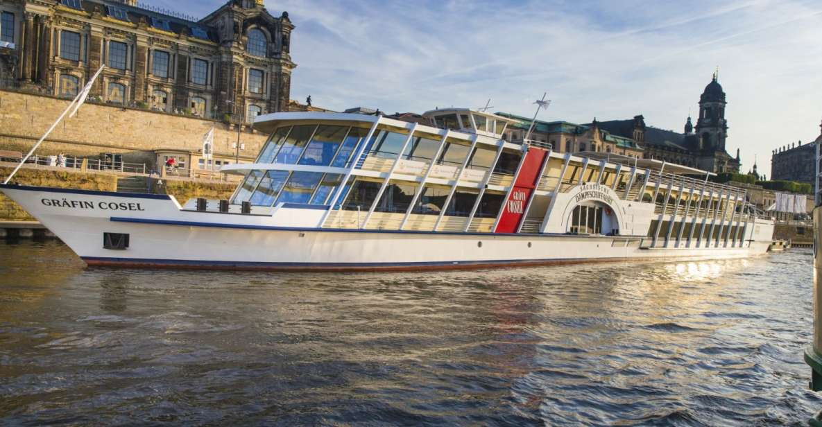 Dresden: River Sightseeing 1.5-Hour Boat Cruise