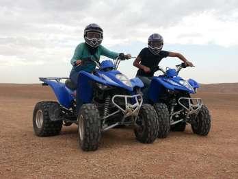 Ab Marrakesch: Quad-Bike-Tour in der Agafay-Wüste