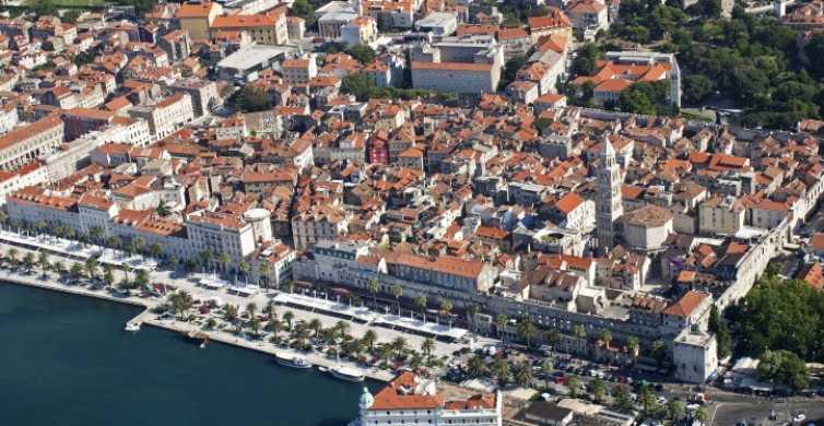Split: Spacer po pałacu Dioklecjana