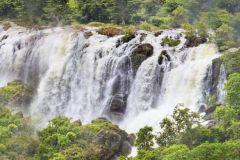Shivanasamudra Cachoeiras e antiguidades Somnathpur Posto