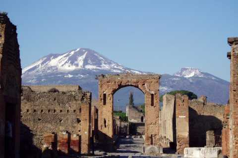From Naples: Skip-the-Line Pompeii and Vesuvius Tour