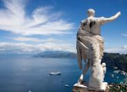 Ab Sorrent: Capri und Blaue Grotte Tagestour