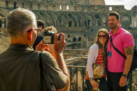 Tour di un piccolo gruppo di Roma in un giorno con Vaticano e Colosseo