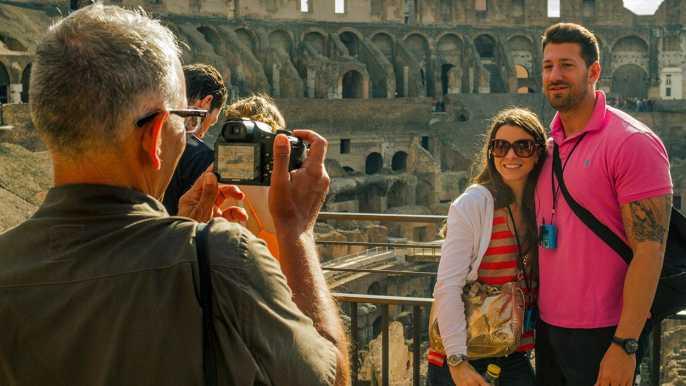 Roma: tour de grupo reducido con el Vaticano y Coliseo